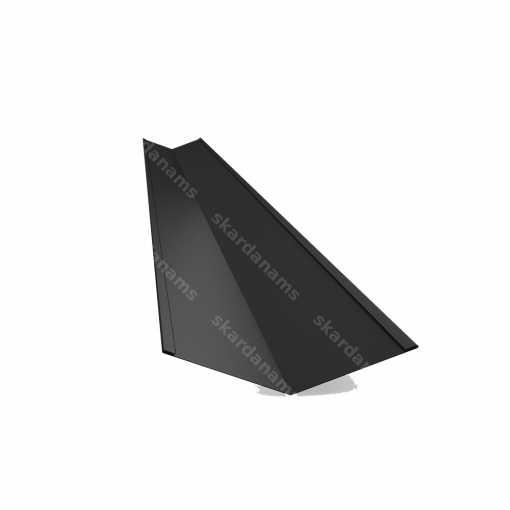 Vinkelränna är ett strukturellt element, den inre vinkeln, som skapar en knutpunkt av två sluttningar på taket. Typ 3.